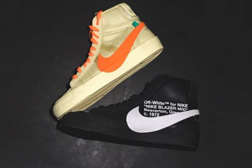 Virgil Abloh Confirms Names of Collaborative Off-White™ x Nike Blazers
