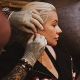 """Christina Aguilera Goes Makeup-Free While Getting Another """"Euphoric"""" Piercing"""