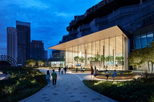 Apple's First Store in Thailand Includes a Rooftop Terrace