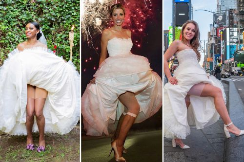 One wedding dress, 5 brides: CEO lends strangers her gown