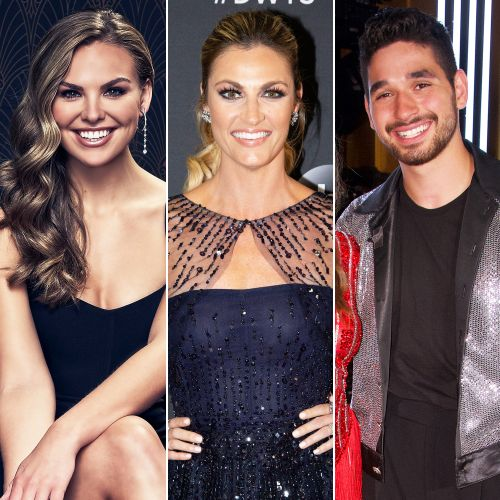 Awkward! Hannah Brown Thought Erin Andrews Said She Should 'Make Out' With Her 'DWTS' Partner