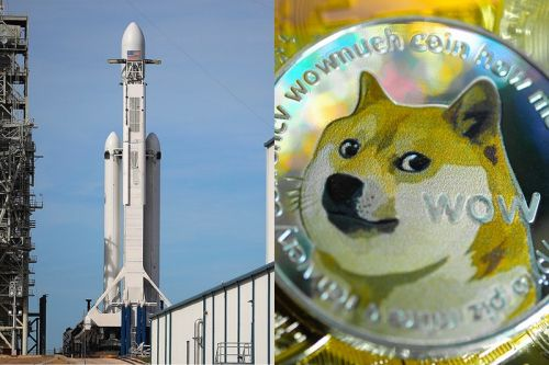 """Elon Musk's SpaceX Will Reportedly Send """"Space Art"""" to the Moon, and Sell It Through Dogecoin"""