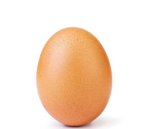 This egg is the most liked image on Instagram ever