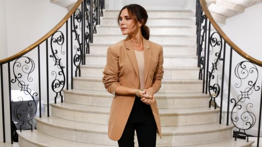 Victoria Beckham's London fashion week show debut oozes confidence