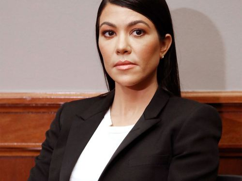 Wait, What's Kourtney Kardashian Doing On Capitol Hill?