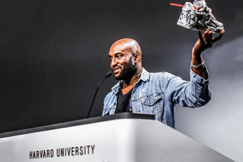 Virgil Abloh is Releasing a Book of His Harvard Lecture