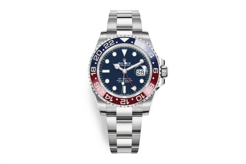 "Rolex Delivers the 2019 GMT-Master II ""Pepsi"" in 18ct White Gold"