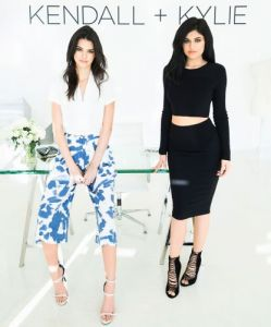 Your First Look At Kendall + Kylie's Debut Collection