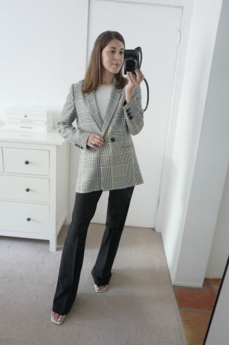 I Tried On the 5 Best-Selling Blazers on Who What Wear-Here's How I Styled Them