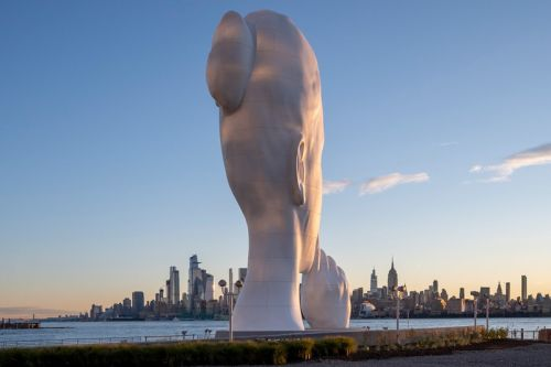 Jaume Plensa Unveiled His Largest Sculpture to Date on the Hudson River Waterfront