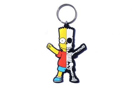 Atmos LAB & 'The Simpsons' Tap Secret Base on a Trio of Keychain Designs