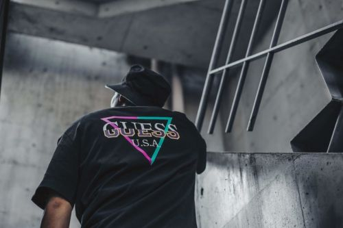 Atmos x GUESS Release Pastel-Packed OG Logo Capsule Collection