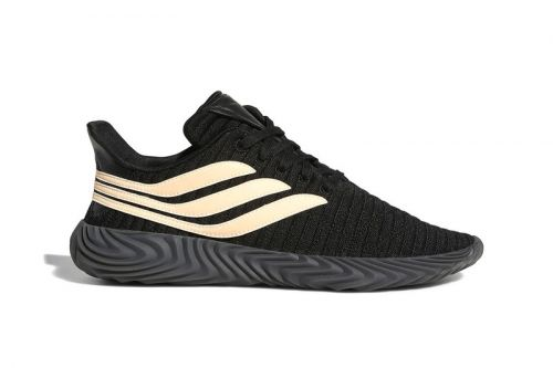 The adidas Originals Sobakov Gets a New Black/Chalk Coral Colorway