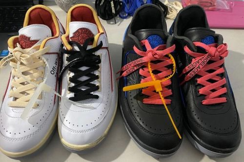 First Look at the Off-White™ x Air Jordan 2 Low