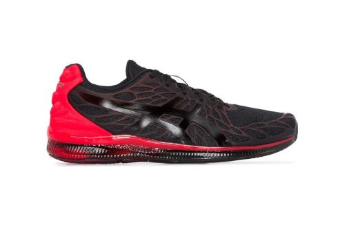 "ASICS' GEL-QUANTUM INFINITY 2 ""Black/Red"" Colorway Highlights Dynamic Styling"