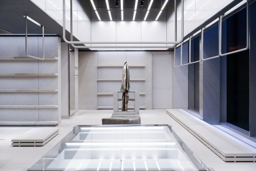 Balenciaga's New NYC Flagship Store is Inspired by a Public Domain