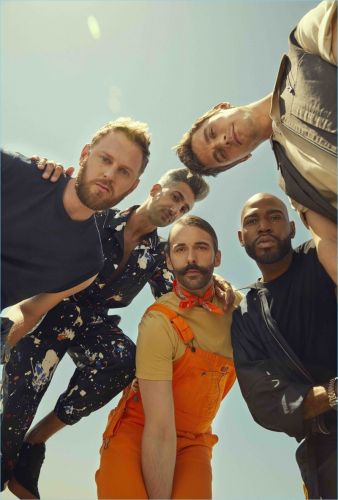 The Sunday Times Style Connects with 'Queer Eye' Stars for New Story