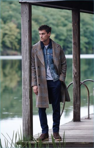 Miles Garber Layers in Fall Essentials for East Dane