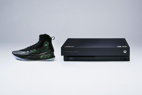 """Under Armour Presents the Microsoft Xbox One x Curry 4 """"More Power"""" VIP Kit"""