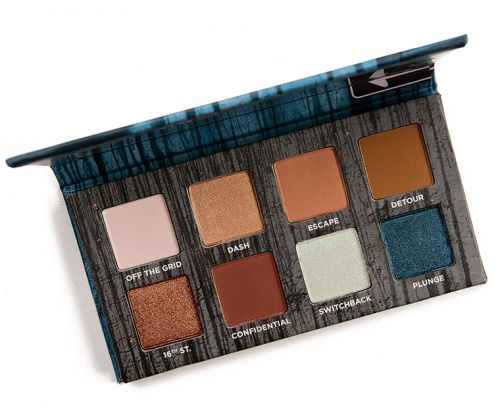 Urban Decay Detour On the Run Mini Eyeshadow Palette Review & Swatches