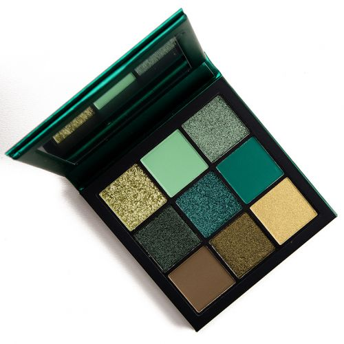 Huda Beauty Emerald Obsessions Eyeshadow Palette Review & Swatches