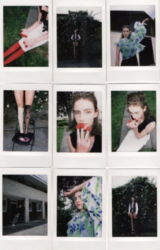 Isabella Molloy photographed by Wooi Jang, styled by Hoi Liu You