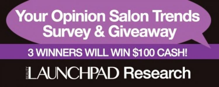 Your Opinion Salon Trends Survey & Giveaway
