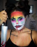 We're Emotionally Unable to Handle These Creepy Clown Makeup Looks