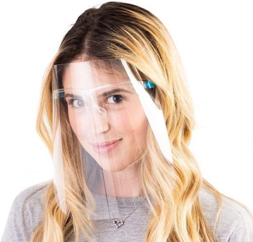 These Face Shields Just Might Force You to Stop Touching Your Face Once & For All
