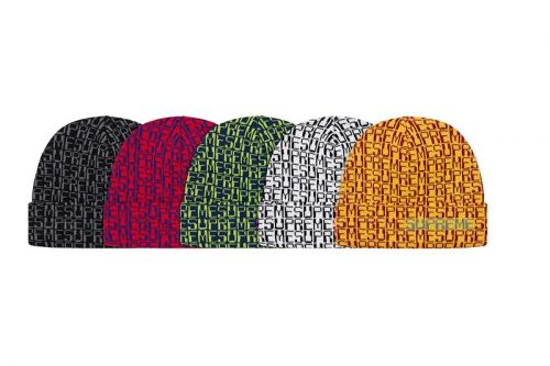 Supreme Fall/Winter 2019 Hats