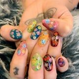 Kesha's Latest Nail Art Look Combines Two Huge Nail Trends For Summer