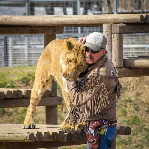 Joe Exotic auctions his Tiger King outfits from behind bars