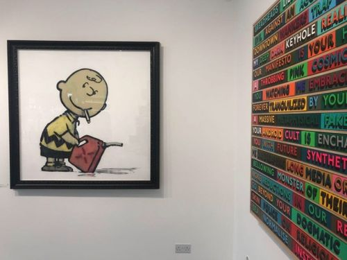 New Banksy art work shows in London gallery