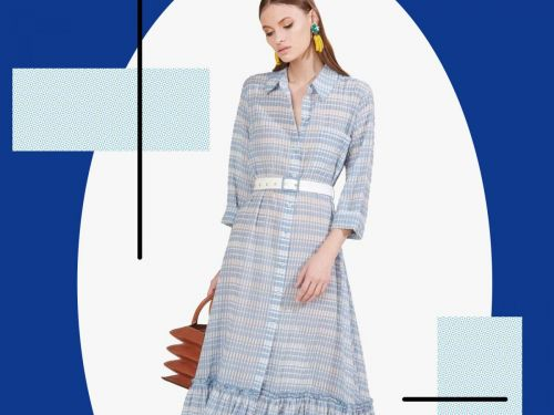 The Unlikely Dress Shape We're Obsessed With Right Now