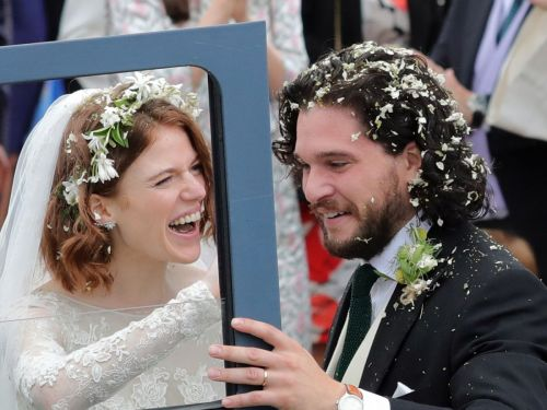 Kit Harington & Rose Leslie Just Had The Only Happy GoT Wedding - & The Photos Prove It