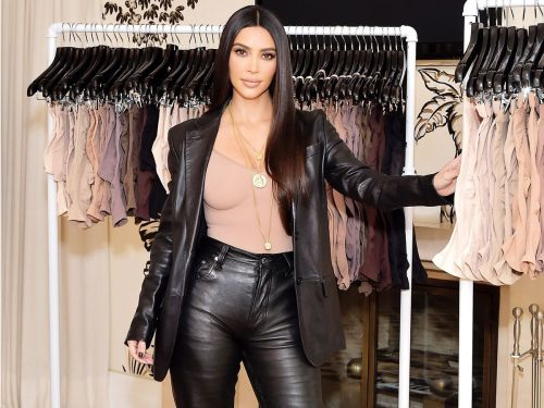 Kim Kardashian Told Me Her Favorite Bra and Underwear Trend Right Now