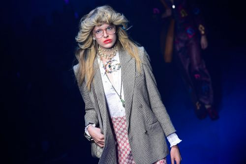Gucci's latest show mimics the movies