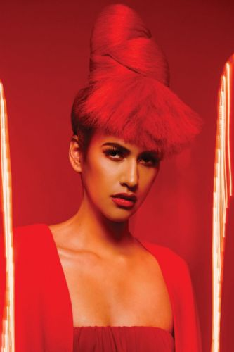 Liza Espinoza-Achurra and Cherry Petenbrink Paint the Town Red