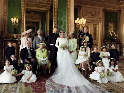 See the First Official Royal Family Portraits Featuring Meghan Markle and Prince Harry