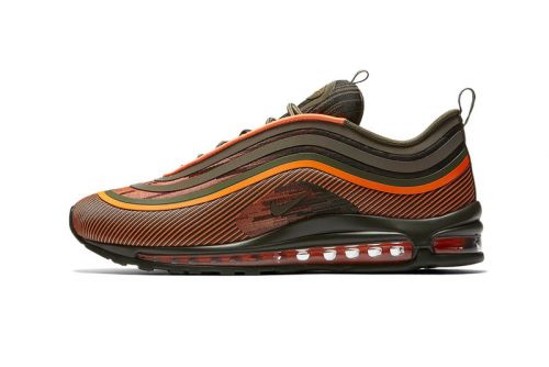"Nike's Air Max 97 Ultra '17 Channels Military ""Flight Jacket"" Colors"