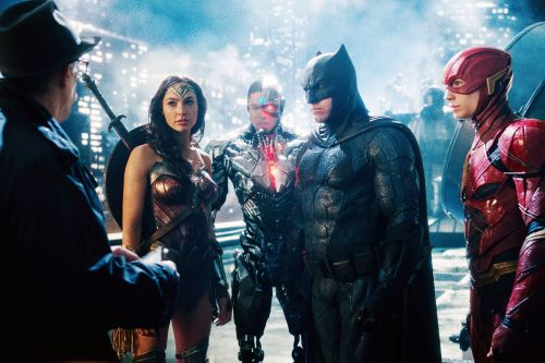 'Justice League' is a stupid, plodding CGI spectacle